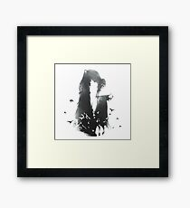 deathly hallows brothers Framed Print