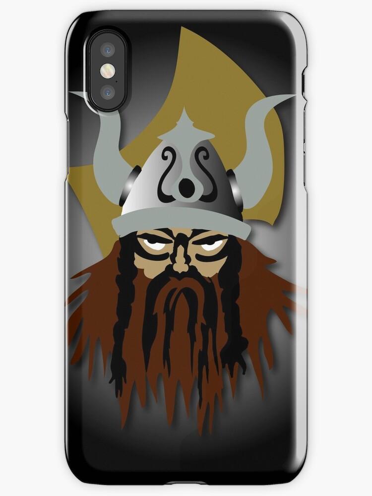 Viking Beserker iPhone by patjila