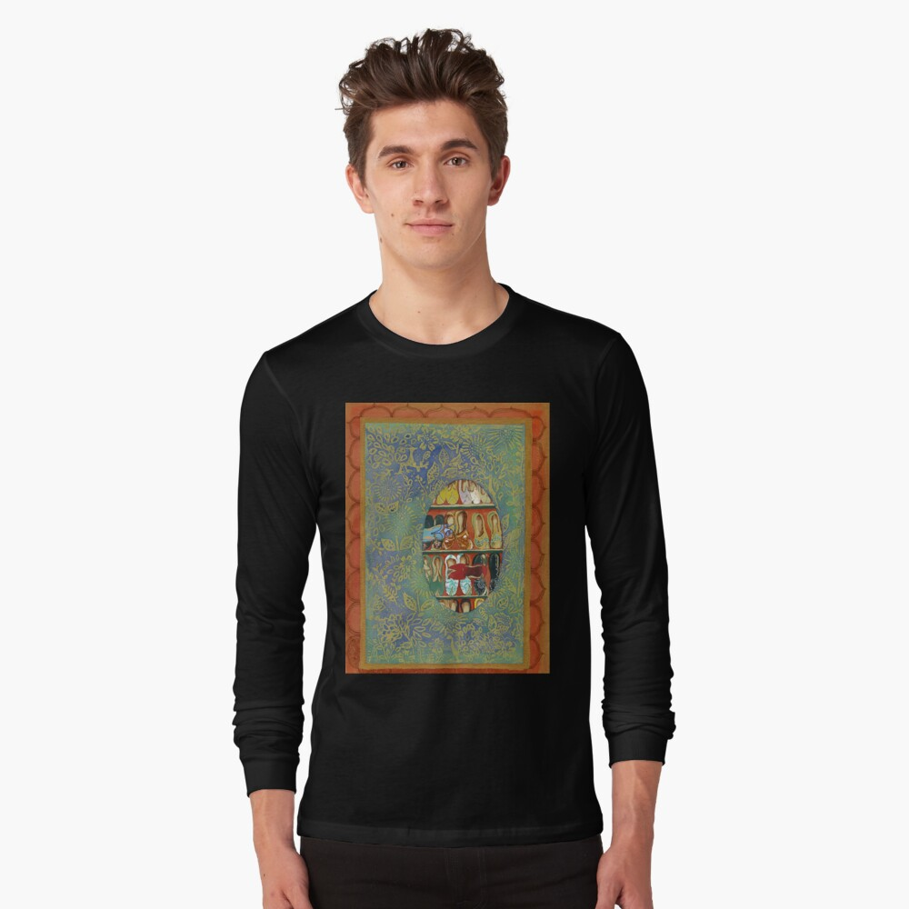 The Shoe Store -The Qalam Series Long Sleeve T-Shirt Front