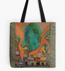 Mughal Skyline - The Qalam Series Tote Bag