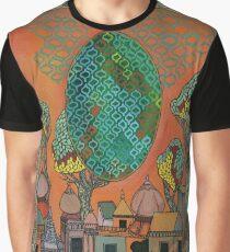 Mughal Skyline - The Qalam Series Graphic T-Shirt