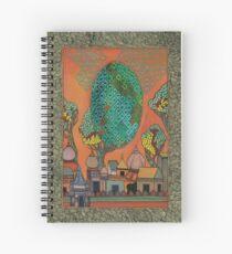 Mughal Skyline - The Qalam Series Spiral Notebook