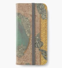 Yellow Pattern - The Qalam Series iPhone Wallet/Case/Skin