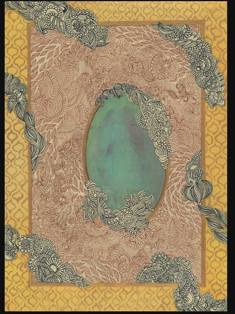 Yellow Pattern - The Qalam Series by mariumrana