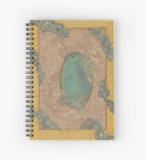 Yellow Pattern - The Qalam Series Spiral Notebook