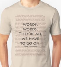 Words, words Unisex T-Shirt