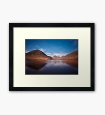Silent Valley Reservoir  Mourne Mountains  Co Down  Northern Ireland Framed Print