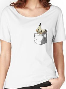 Mimikyu Shirt Pocket Women's Relaxed Fit T-Shirt