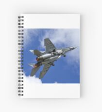 Polish Air Force Mikoyan Gurevich MiG 29A Fulcrum A, Red 111 Spiral Notebook