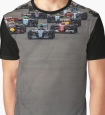 Formula 1 racing cars 2016 Graphic T-Shirt