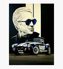 Steve AC cobra 427 Photographic Print
