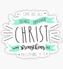Christian Quote Sticker