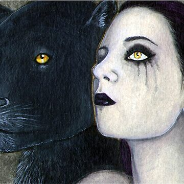 The Panther Lady by DarkCrow