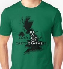 Conspiracy of Cartographers Slim Fit T-Shirt