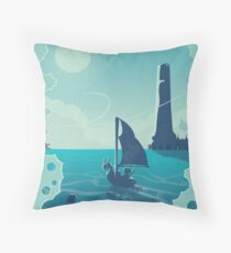 The Waker Throw Pillow
