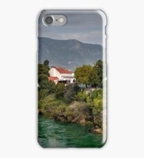 Mosques by The Neretva River iPhone Case/Skin
