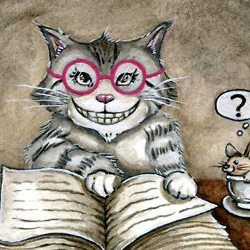 One Smart Kitty by DarkCrow