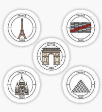 Packs Stickers Paris Sticker