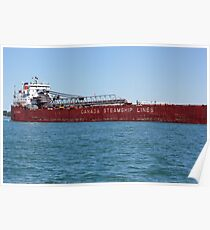 Canada Steamship Lines Poster