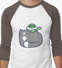 Blue Cat and Tiny Turtle T-Shirt