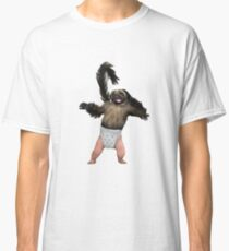 Puppy Monkey Baby Classic T-Shirt