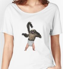 Puppy Monkey Baby Women's Relaxed Fit T-Shirt