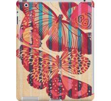 Butterflies in Strips iPad Case/Skin