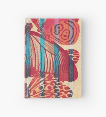 Butterflies in Strips Hardcover Journal