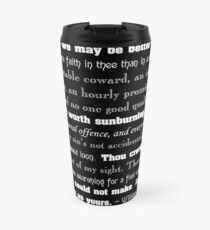Shakespearean Insults Travel Mug