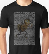 bee movie script ( you can read it) T-Shirt