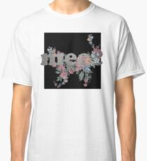 meat Silver Floral Logo Classic T-Shirt