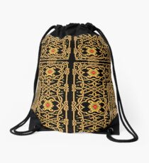 pattern of the past Drawstring Bag