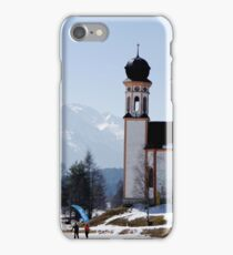 Seekirchl church in Seefeld in Tirol, Austria iPhone Case/Skin