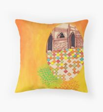 Haveli Throw Pillow