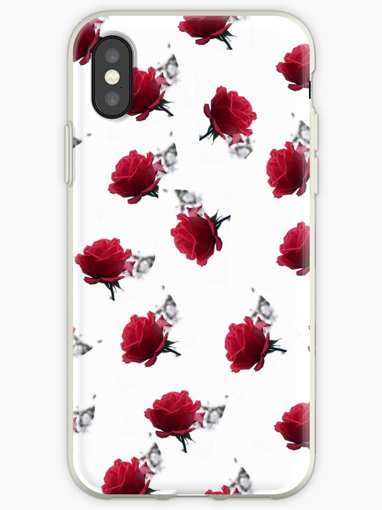 RED ROSES  _ pattern2 by OlaG