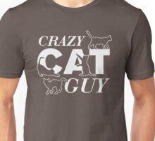 crazy cat guy Unisex T-Shirt