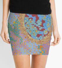 Jewel Tones - The Qalam Series Mini Skirt