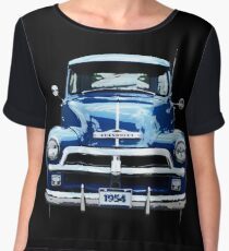 Chevrolet Truck Women's Chiffon Top