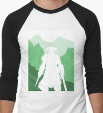 Dragonborn - Green Men's Baseball ¾ T-Shirt
