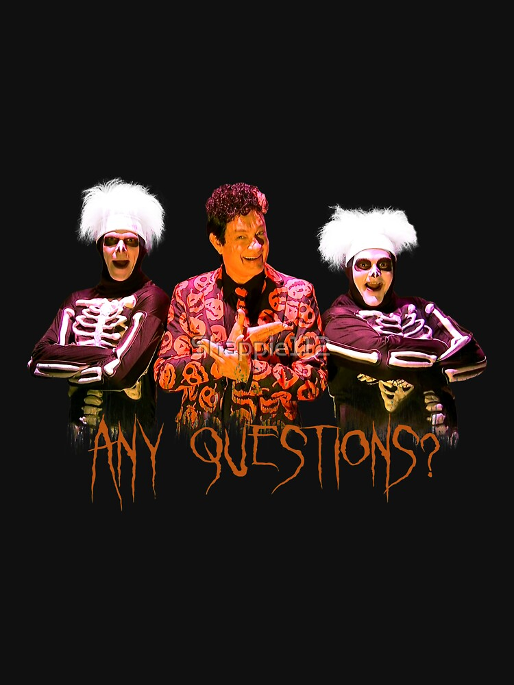 David S. Pumpkins - Any Questions? V by Shappie112