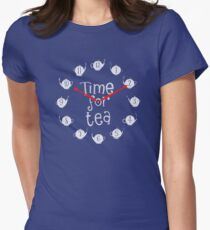 Time for tea Women's Fitted T-Shirt