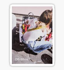 Off-White SEE NOW BUY NOW Poster 001 Sticker