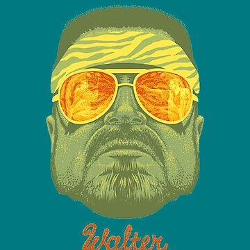 The Big Lebowski Walter by zamora