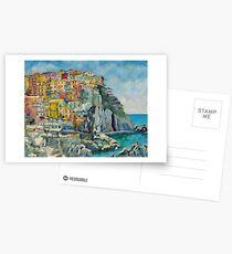 Cinque Terre by Chris Brandley Postcards