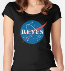 The 100 Raven Reyes Meatball Women's Fitted Scoop T-Shirt