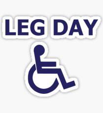 Leg Day Sticker