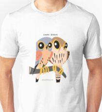 Lesser Kestrel caricature Unisex T-Shirt
