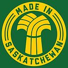 Made in Saskatchewan Logo (Gold & Green) by madeinsask