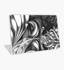 Abstract Hand Drawn Surreal Flower Looking Design Laptop Skin