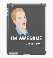 Barney - I'm Awesome. iPad Case/Skin